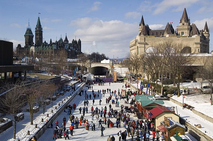 Rideau Canal.  Photo: Ottawa Tourism