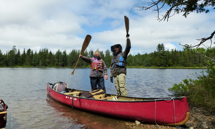 On the Bucket List: Canoeing in Algonquin Park