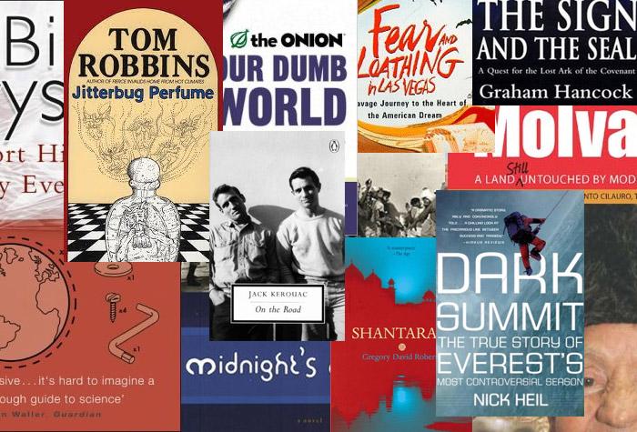 Robin Esrock's favourite travel books