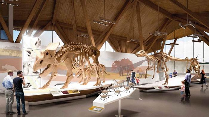 The Philip J Currie Dinosaur Museum