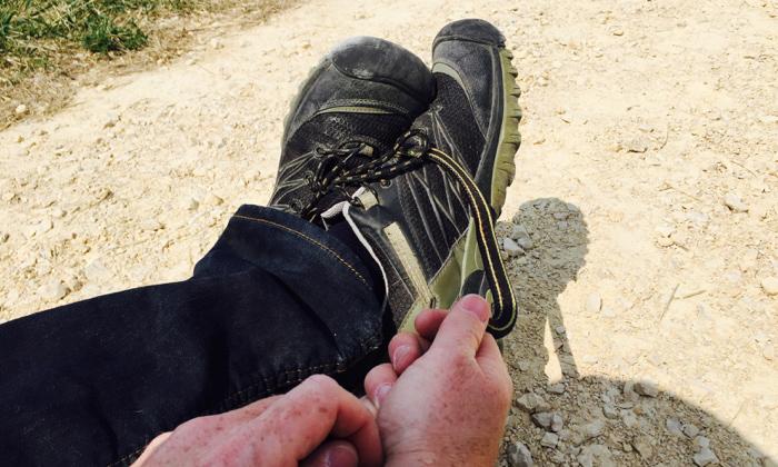 A case of Keen Footwear designers inspired by garter snakes.