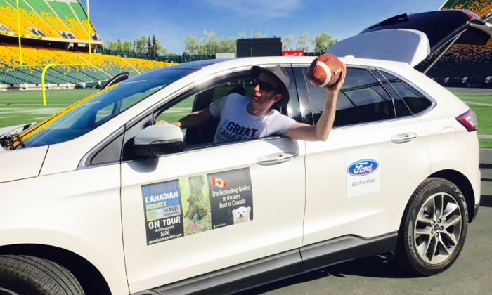Making the pass in a Ford Edge